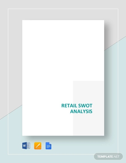 retail swot analysis template1