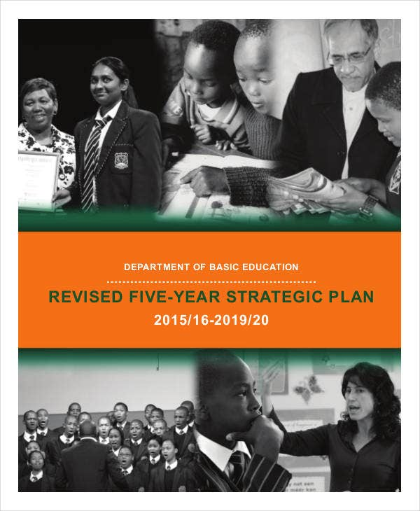 revised five year strategic plan