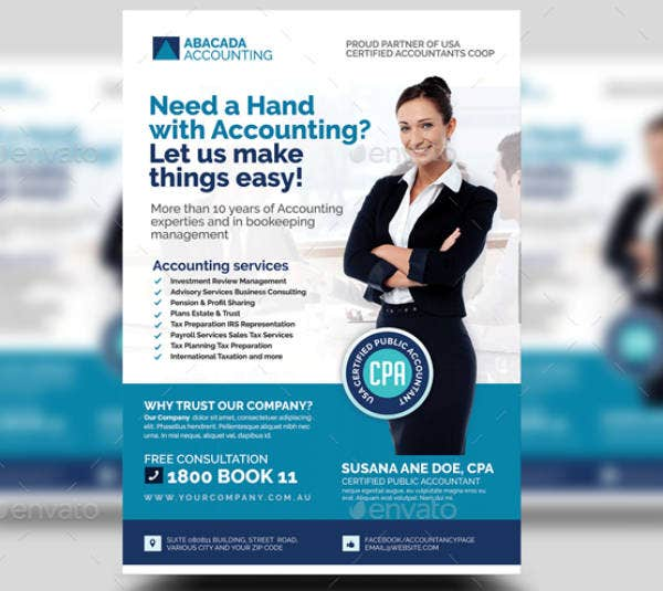 Sample Accounting Firm Flyer