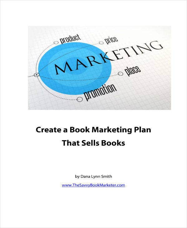 Sample Book Marketing Plan Template