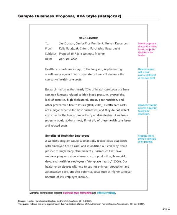 sample business proposals 1