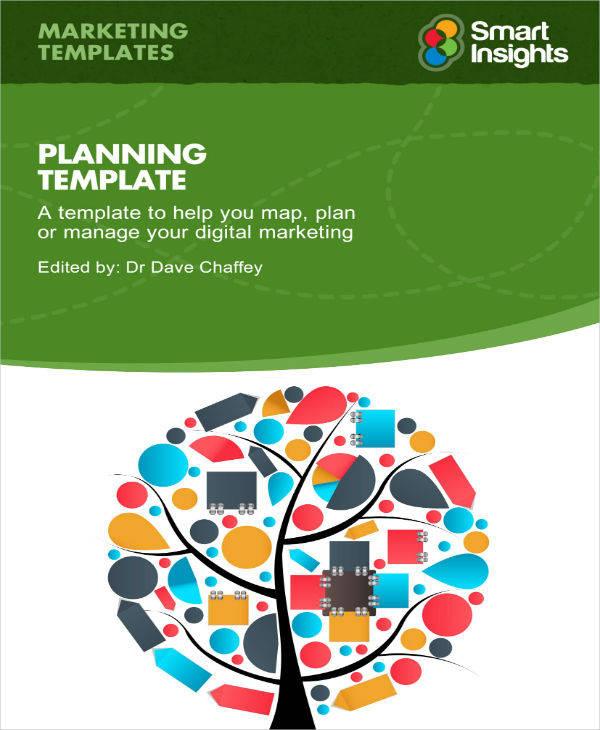sample digital marketing plan