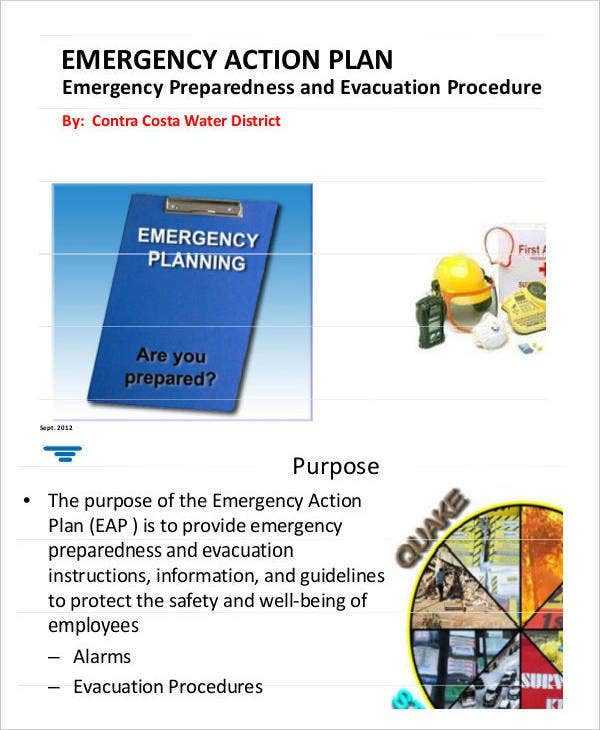 Sample Emergency Action Plan
