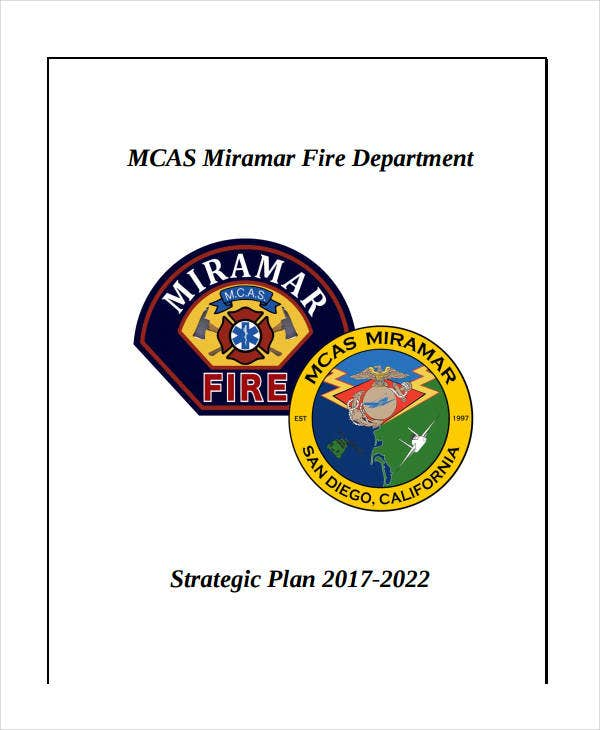 sample fire department strategic plan