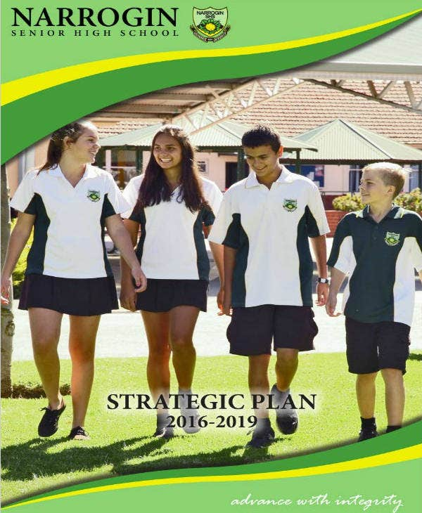 Sample High School Strategic Plan