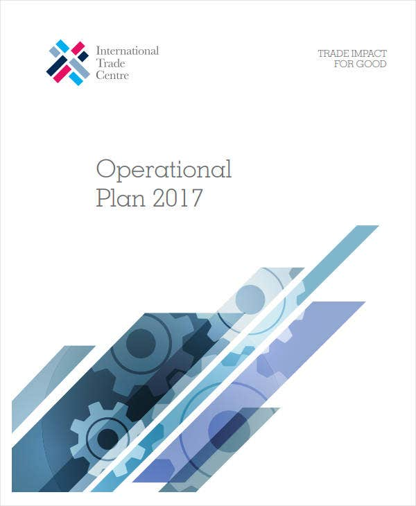 sample it operational plan