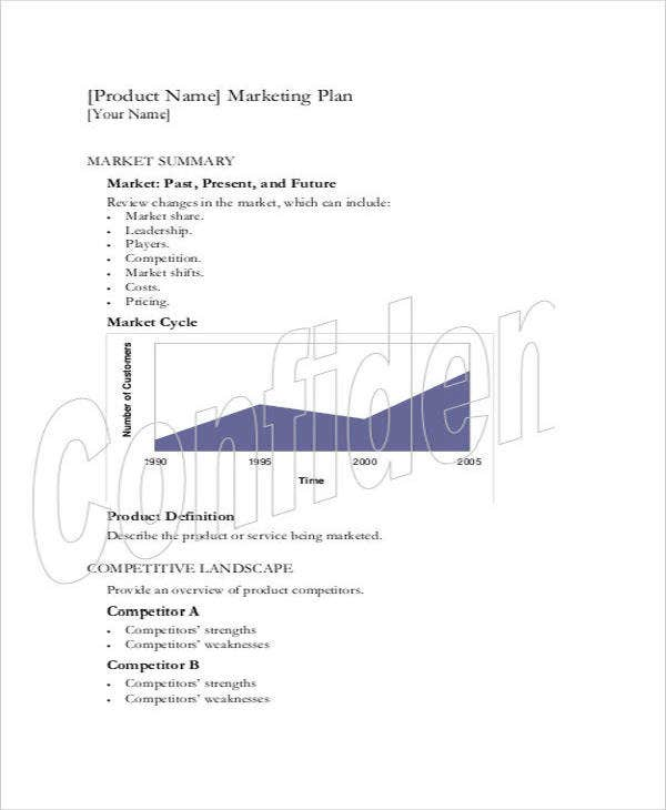 sample product marketing plan1
