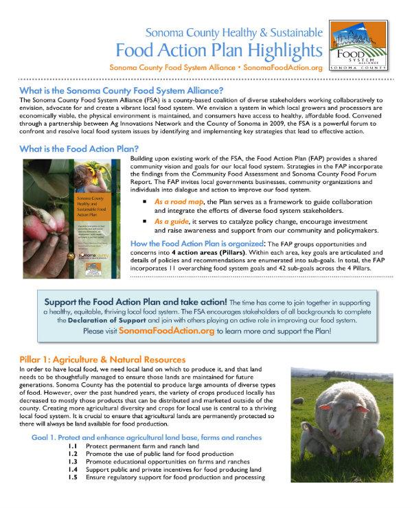 sample restaurant action plan 1