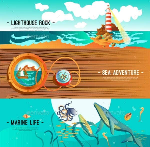 12+ Nautical Banner Designs & Templates - PSD, AI | Free & Premium ...