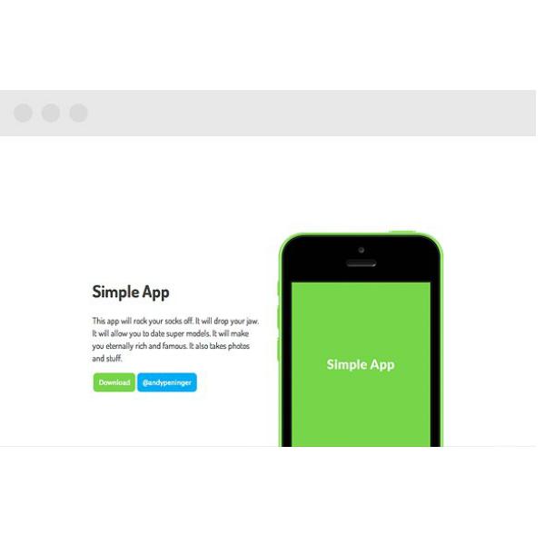 Simple App Template