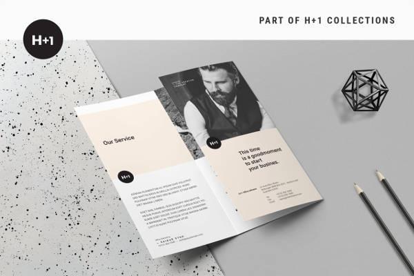 Simple Business Tri-Fold Brochure