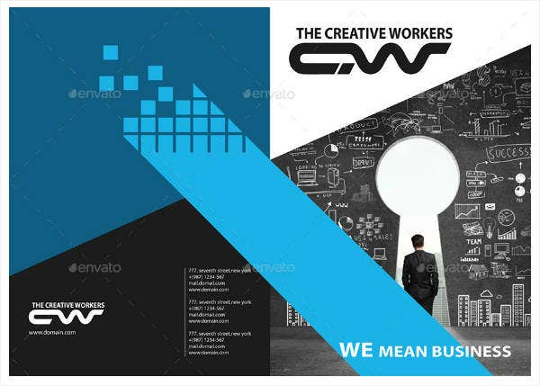 Simple Consultancy Business Brochure