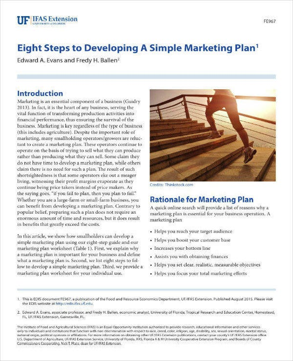 simple direct marketing plan
