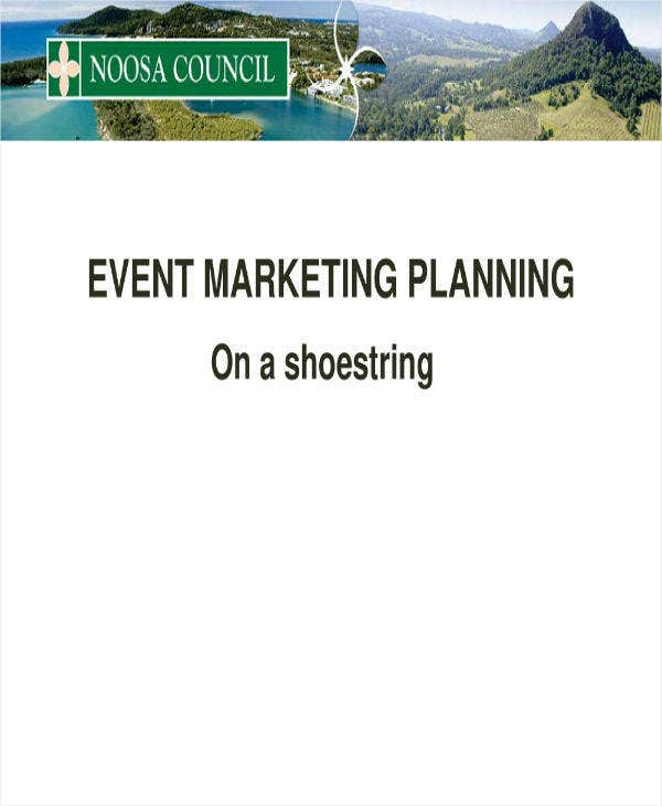 Simple Event Marketing Planning