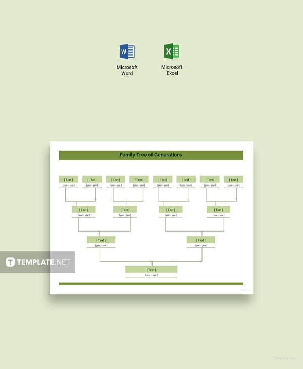 microsoft word family tree