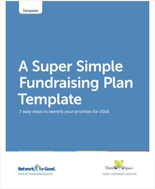 Simple Fundraising Plan Template