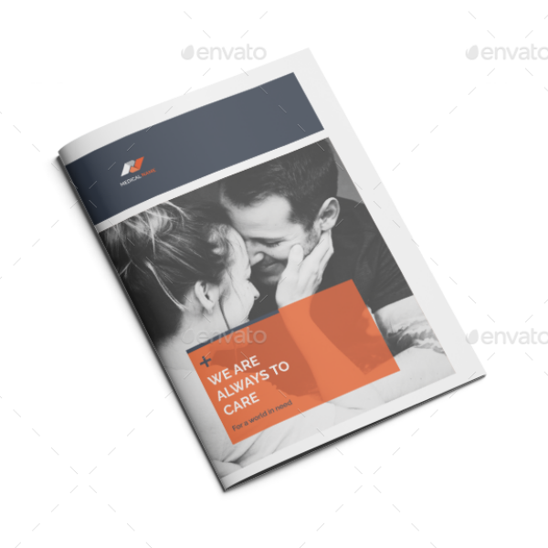 Simple Medical Company Brochure Template