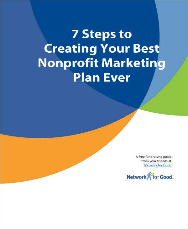 simple nonprofit marketing plan