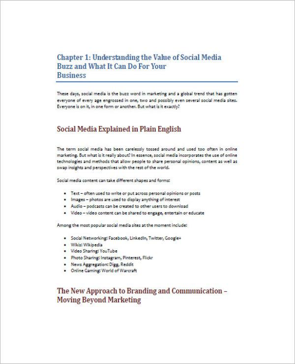 simple restaurant social media marketing plan