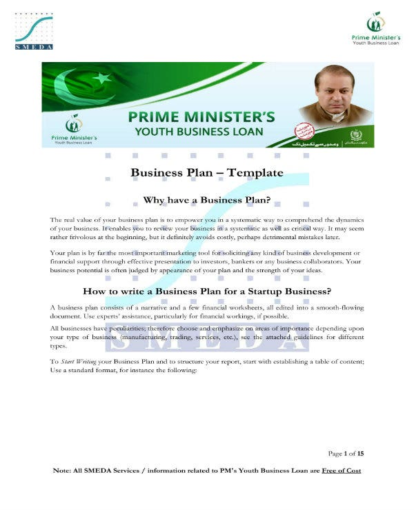 simple startup business direct marketing plan