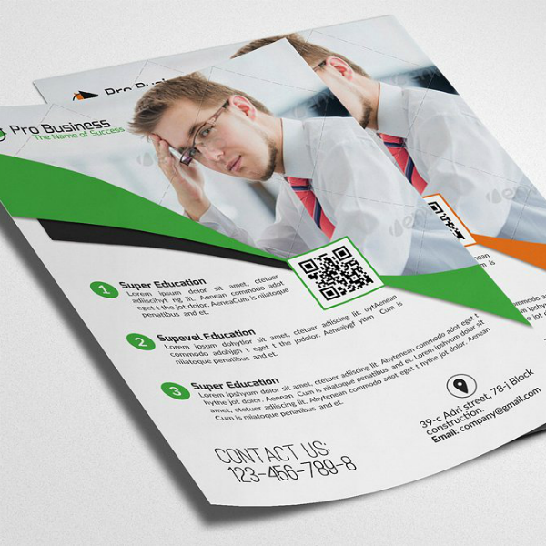 Simple Superior Business Analyst Flyer Template