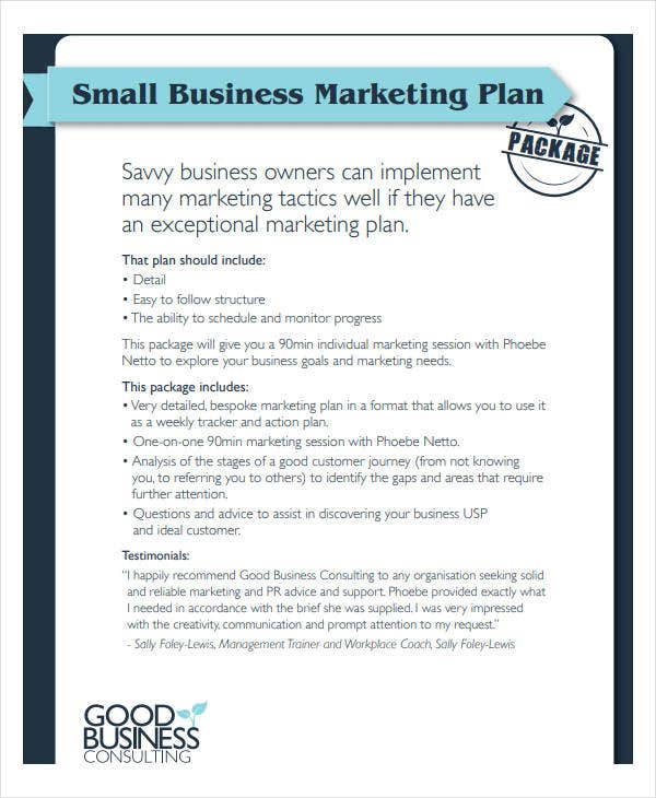 small business marketing plan1