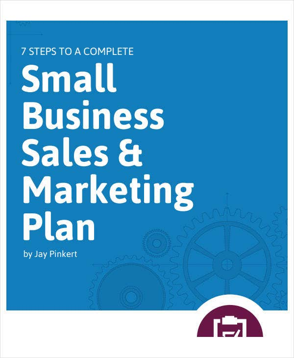 small business marketing sales plan