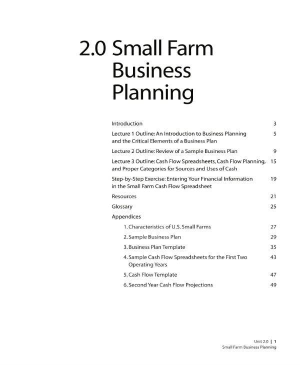 small farm business planning 01