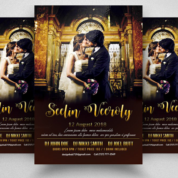 Smart Wedding Planner Flyer Template