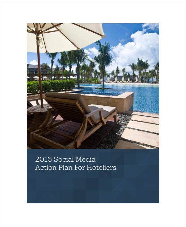 social media action plan for hoteliers