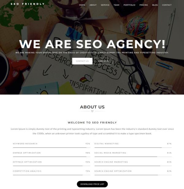 social media digital marketing agency template