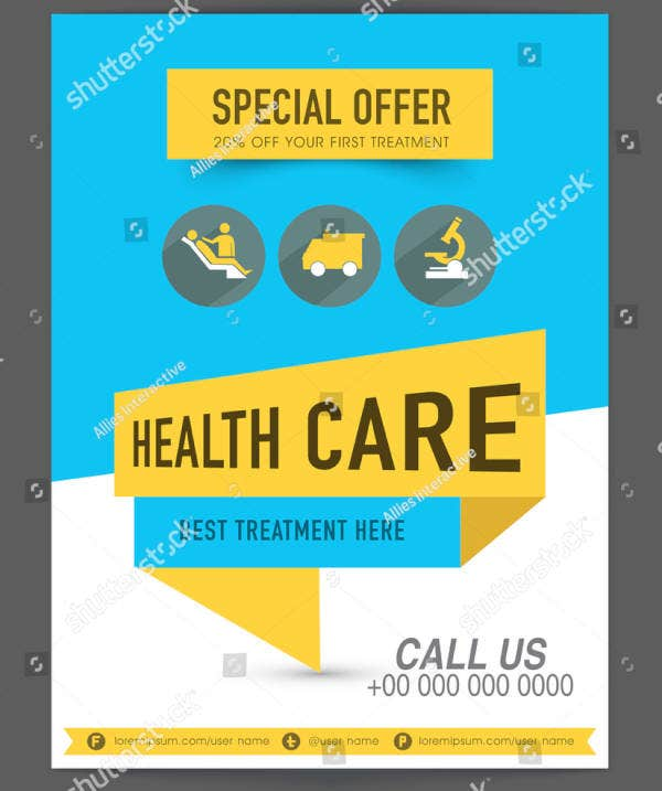 Special Health Treatment Flyer Template