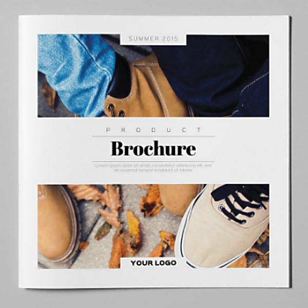 Square Fashion Products Brochure Template