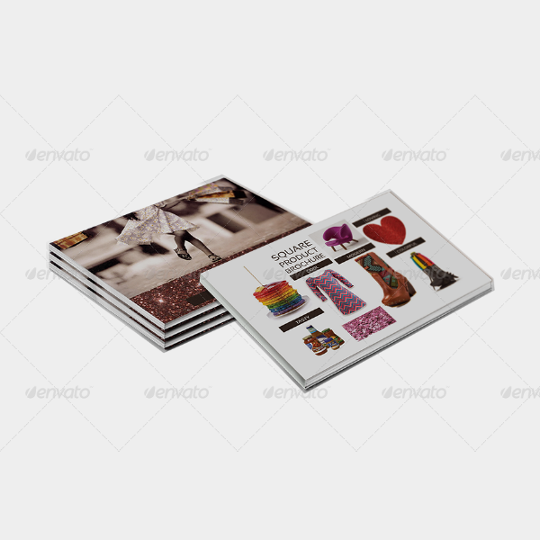 Square Multipurpose Product Brochure Template