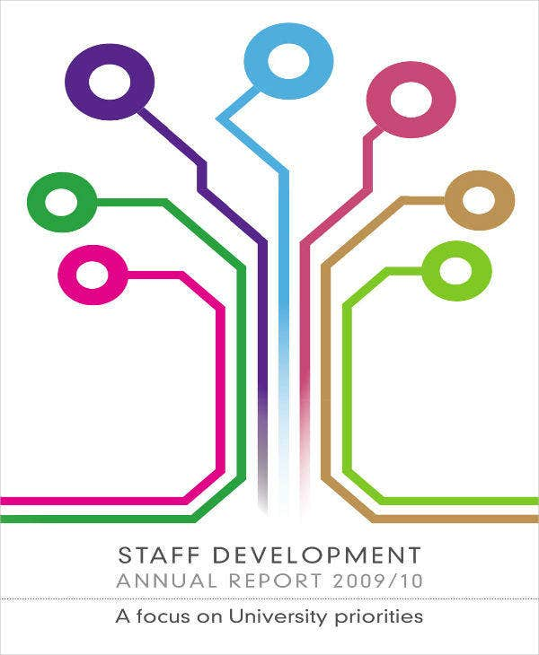 Staff Development Annual Report