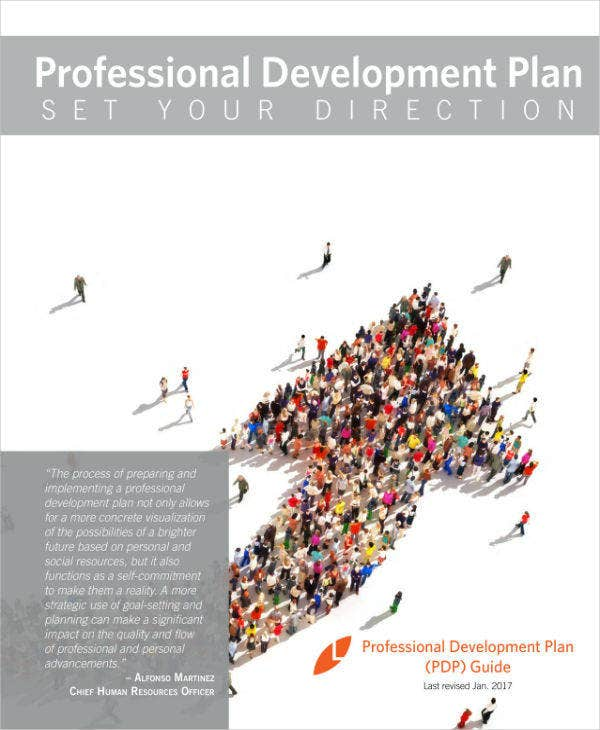 staff development program plan sample