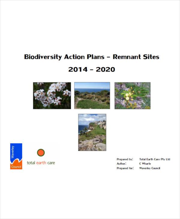 standard biodiversity action plan