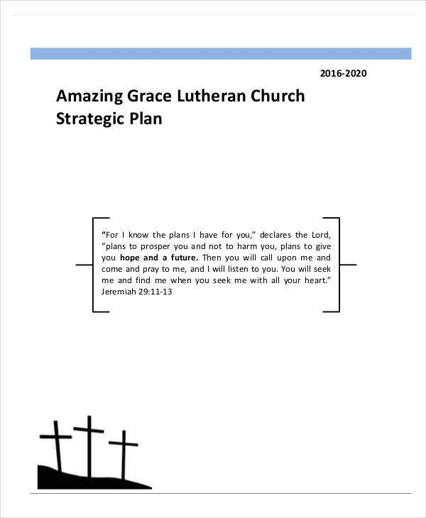 standard grace lutheran church strategic plan