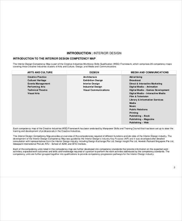 11  interior design business plan templates