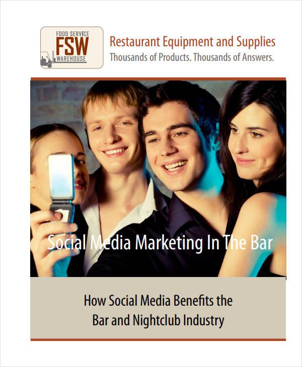 standard restaurant social media marketing plan