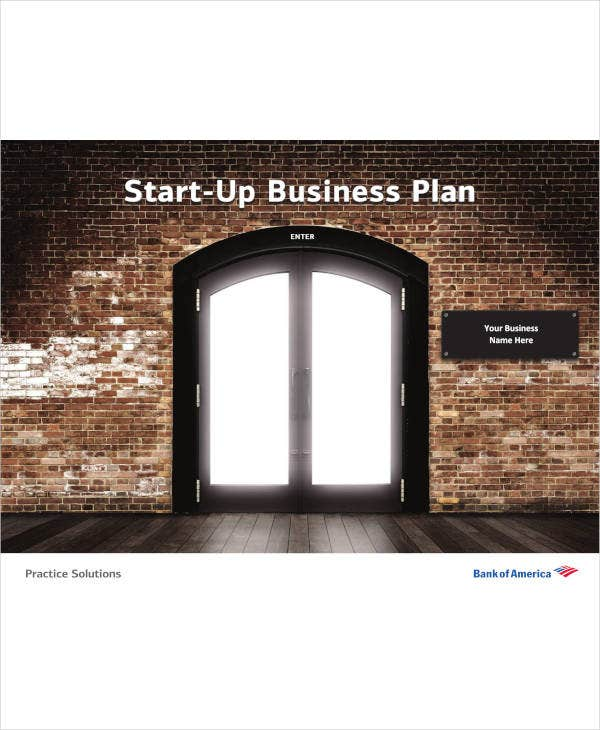 Startup Business Marketing Plan Template