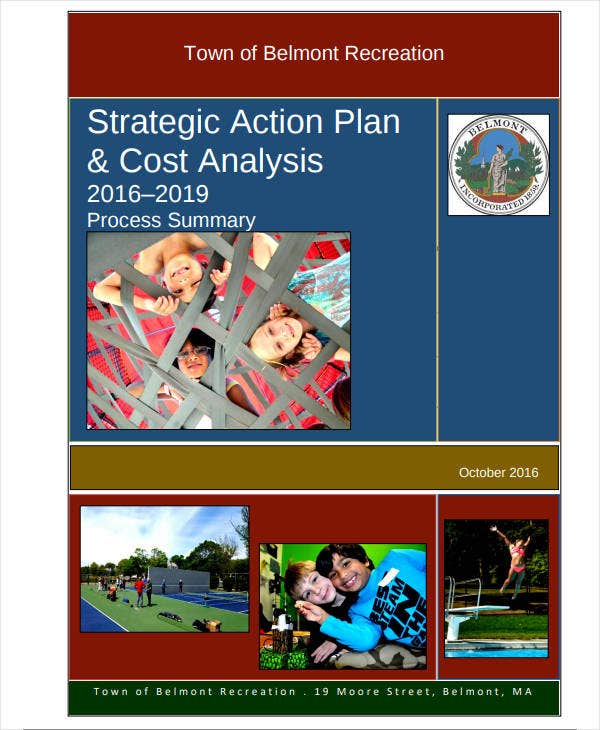 strategic action plan cost analysis
