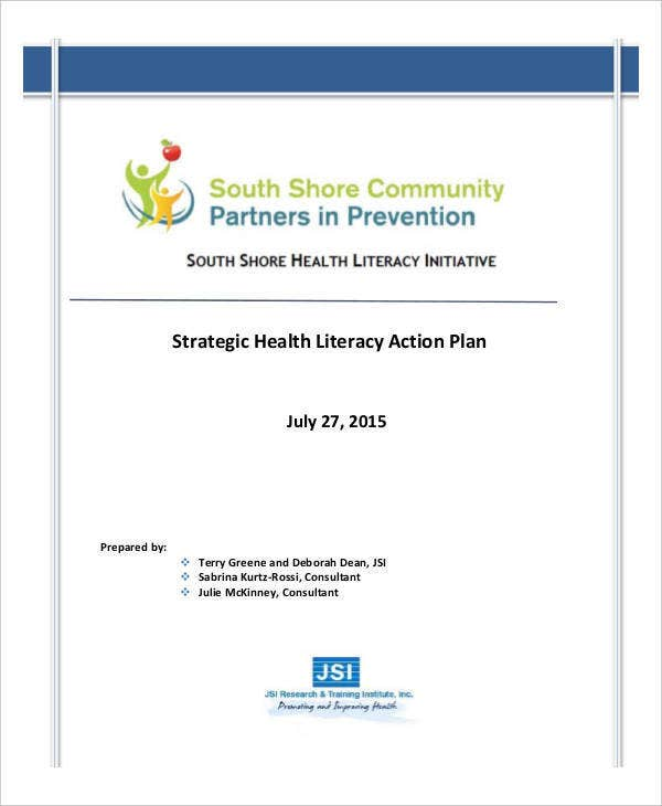 strategic health literacy action plan1