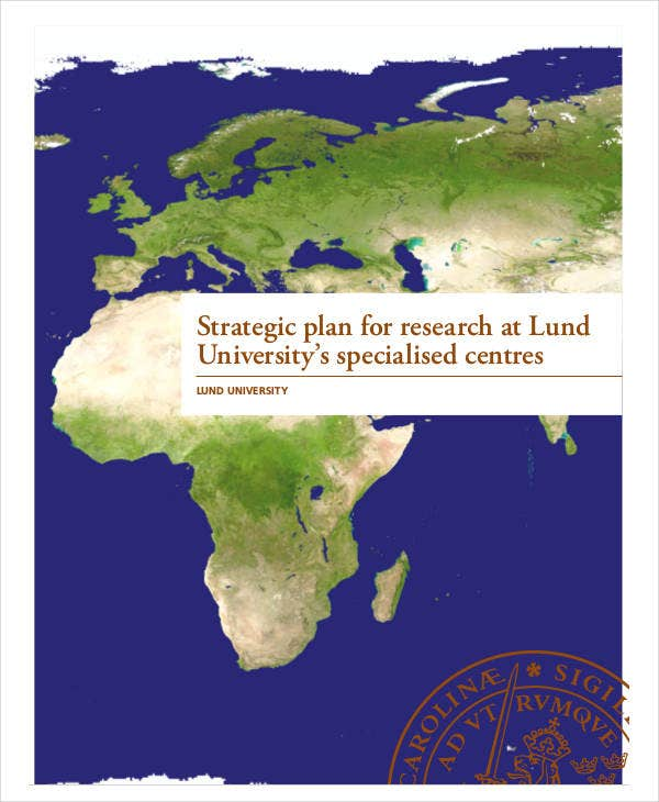 strategic plan for research