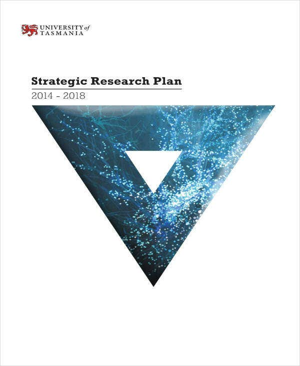 strategic research plan example