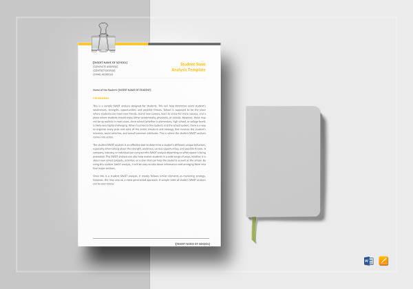 student-swot-analysis-template