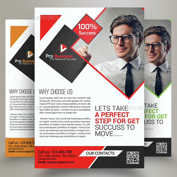 Successful Marketing Consultant Flyer Template