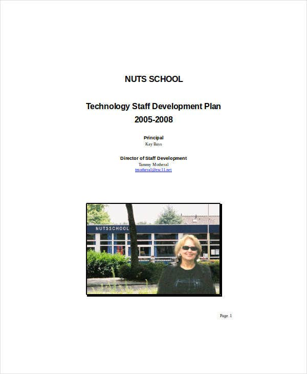 technology staff development plan