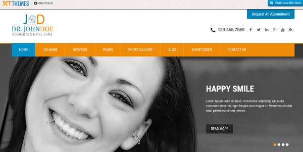 toothy-dental-clinic-website-template
