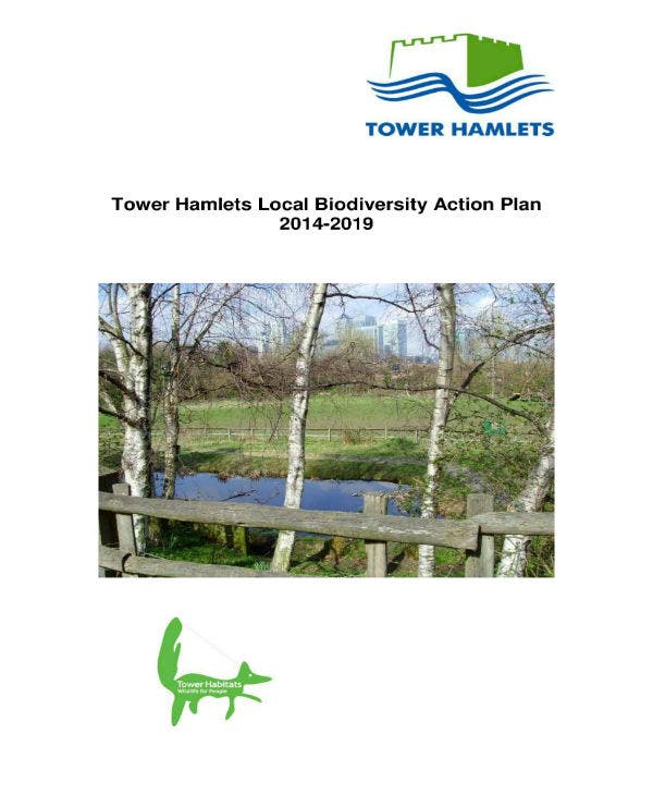 tower hamlets local biodiversity action plan 01